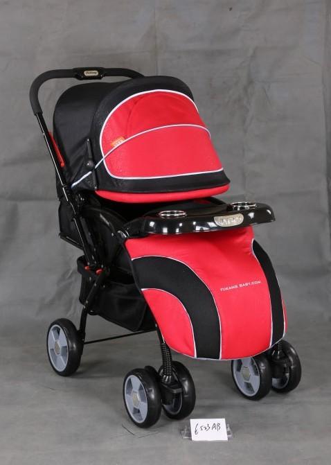 婴儿手推车 货  号: 6523ab红