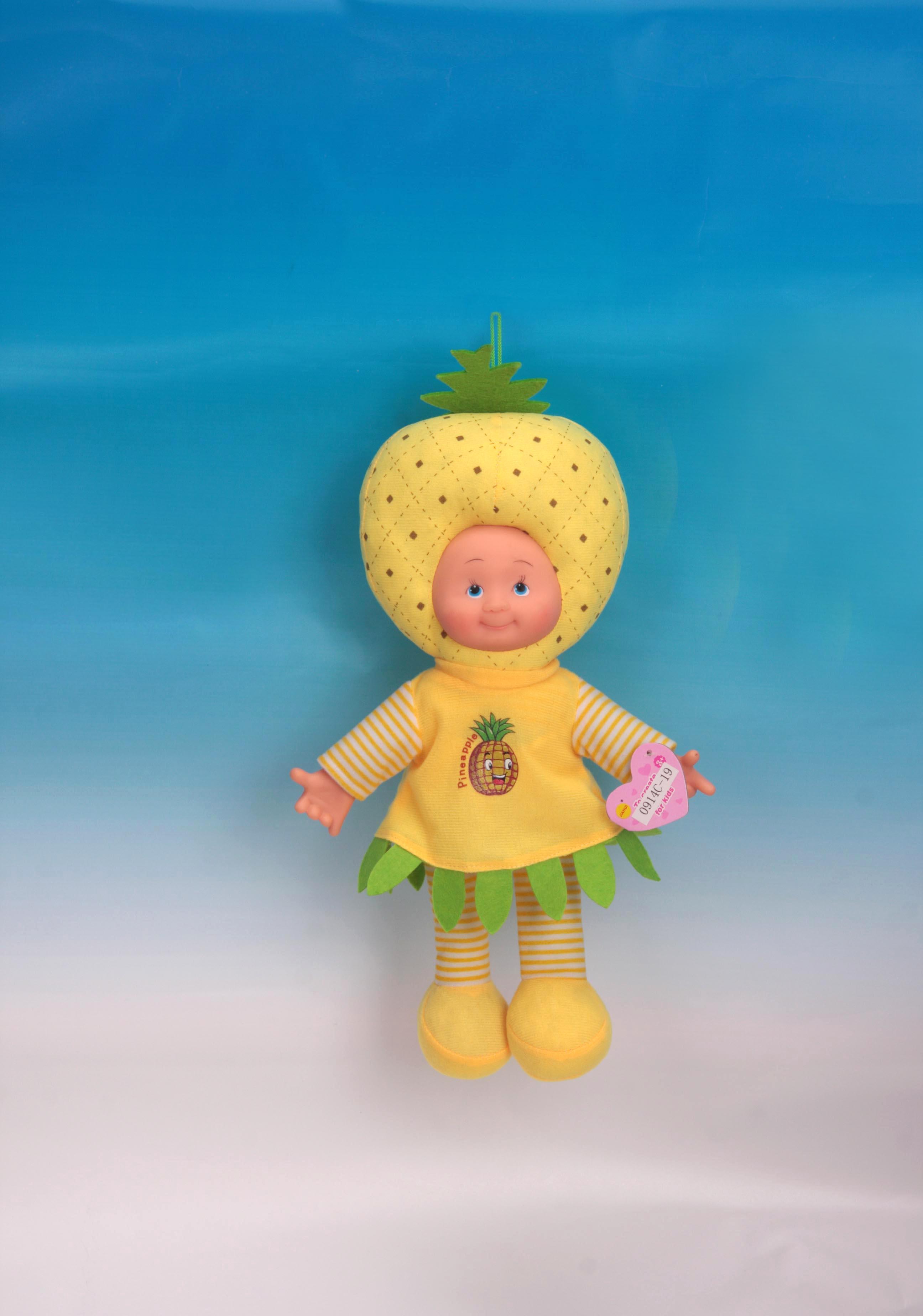 中国 音乐/14寸音乐水果娃娃