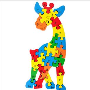 宝宝拼图动物图片益智