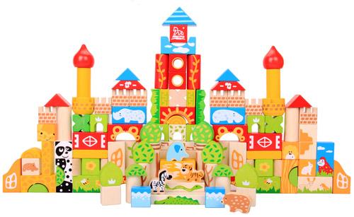 森林城堡积木,北京木马智慧玩具有限公司