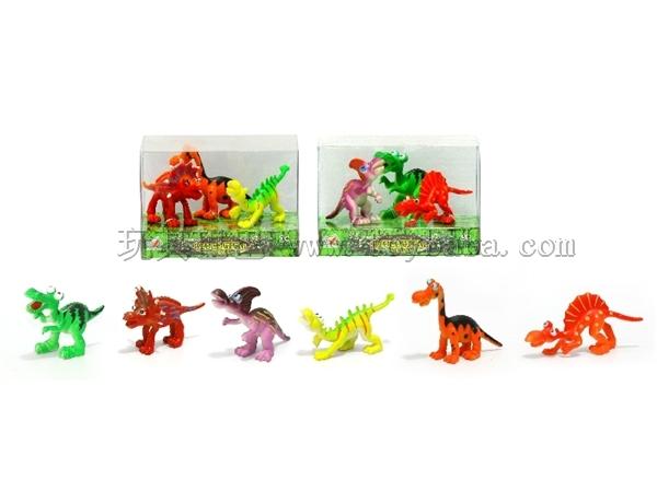卡通恐龙组合