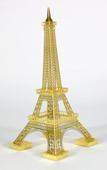 3d拼装模型---埃菲尔铁塔(土豪金)