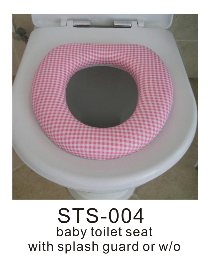 Toilet trainer pad for adult toilet