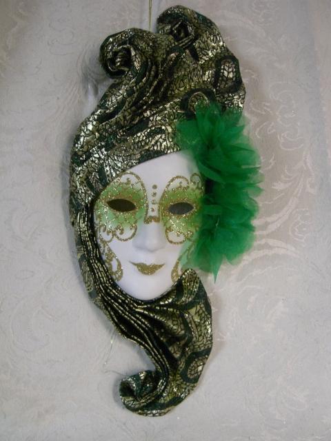 万圣节面具的制作方法-深圳面具定制威尼斯饰品面具